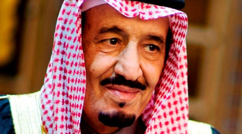 Saudi Arabia's King Salman bin Abdulaziz Al Saud. Photo Credit: US Secretary of Defense, Wikipedia Commons.
