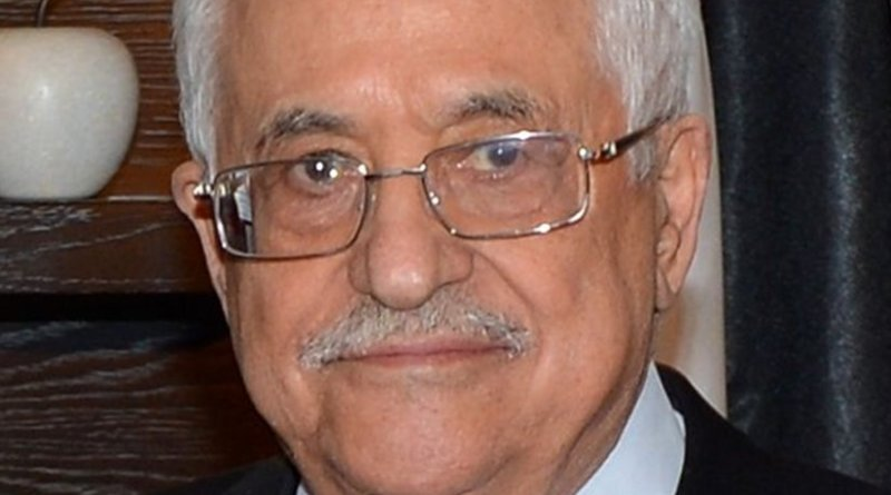 Palestine's Mahmoud Abbas. Photo Credit: US State Department, Wikipedia Commons.