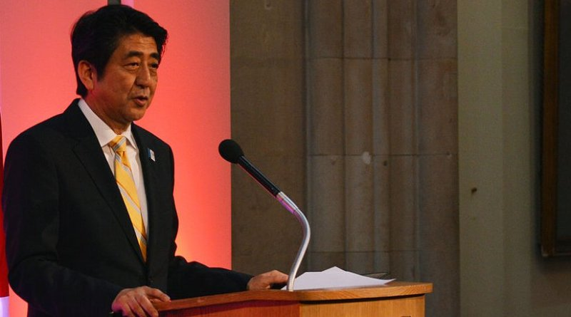 Japan's Shinzo Abe. Photo Credit: Chatham House, Wikimedia Commons.