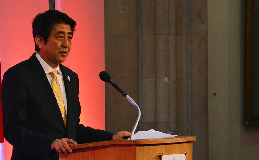 Japan's Shinzo Abe. Photo Credit: Chatham House, Wikimedia Commons.