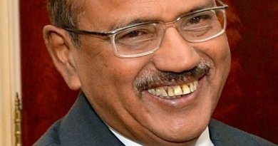 India's Ajit Doval. Photo by U.S. Department of State, Wikipedia Commons.