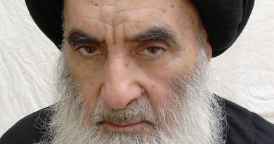 Iraq's Ayatollah Ali Husayni Sistani. Photo by IsaKazimi, Wikipedia Commons.