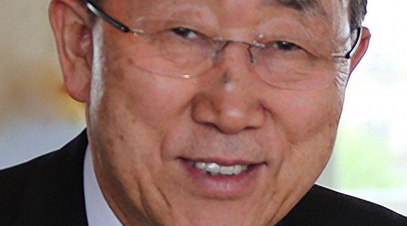 United Nation's Ban Ki-moon. Photo by ITU/ M. Jacobson - Gonzalez, Wikipedia Commons.