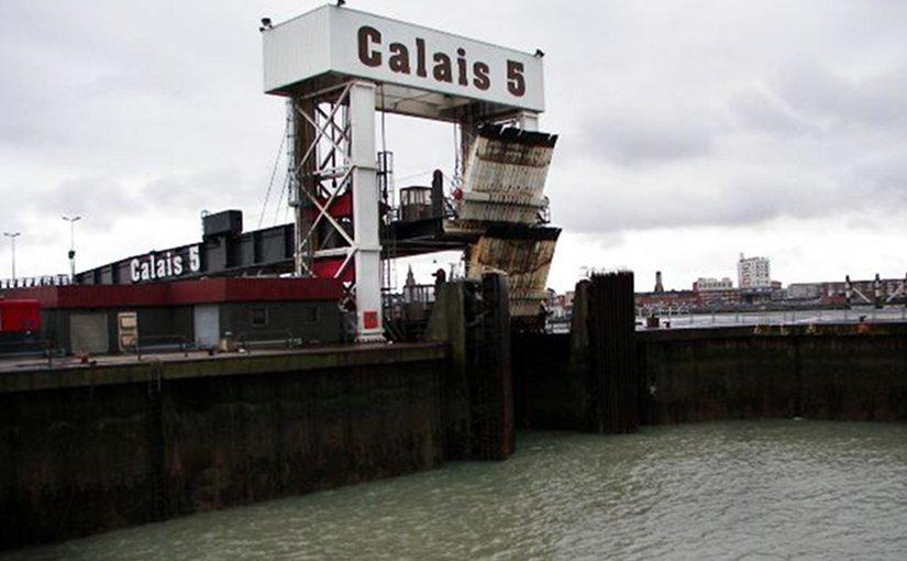 Port of Calais, France.