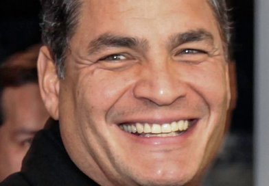 Ecuador's Rafael Correa. Photo by Cancillería Ecuador, Wikipedia Commons.