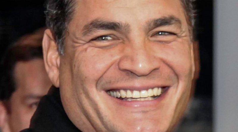 Ecuador's Rafael Correa. Photo by Cancillería Ecuador, Wikipedia Commons.