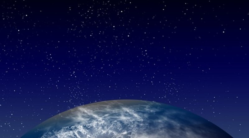 Earth and stars