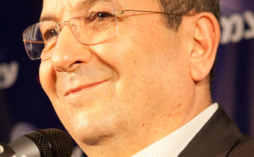 Israel's Ehud Barak. Photo by Barak Weizmann, Wikipedia Commons.