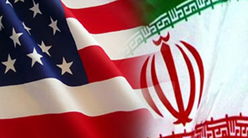 Flags of Iran and United States