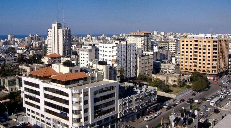 Gaza. Photo by OneArmedMan, Wikipedia Commons.