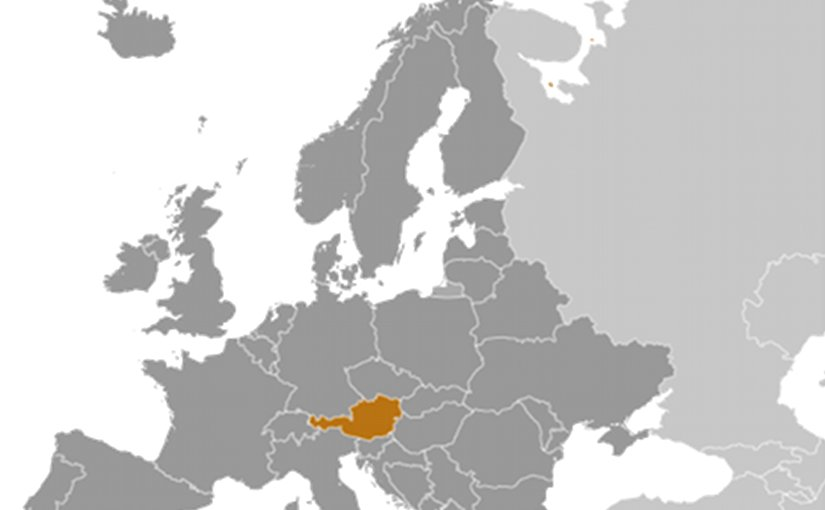 Location of Austria. Source: CIA World Factbook.