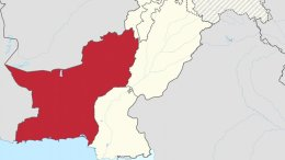 Location of Balochistan in Pakistan. Source: Wikipedia Commons.