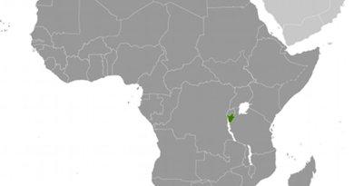 Location of Burundi. Source: CIA World Factbook.