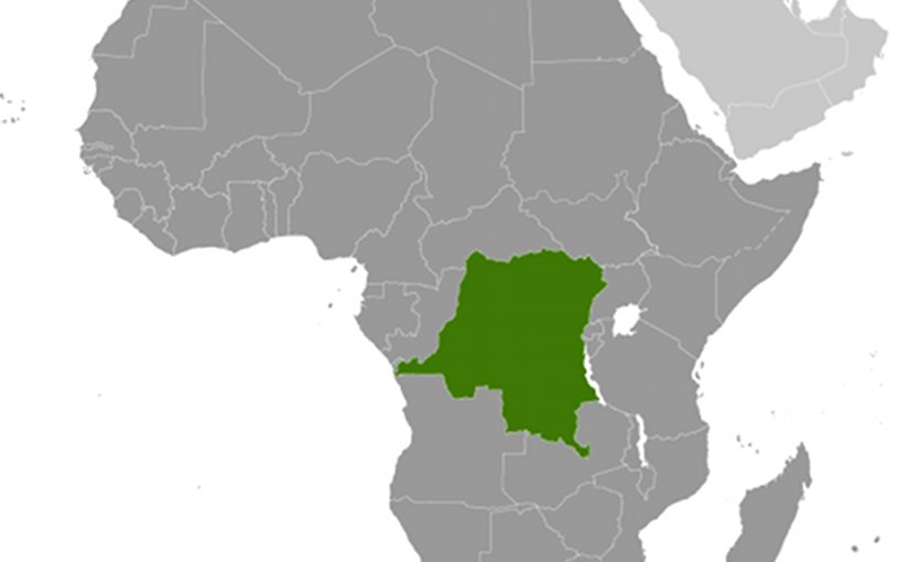Location of DR Congo. Source: CIA World Factbook.
