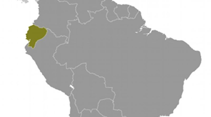 Location of Ecuador. Source: CIA World Factbook.