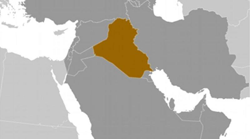 Location of Iraq. Source: CIA World Factbook.