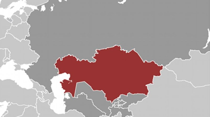 Location of Kazakhstan. Source: CIA World Factbook.