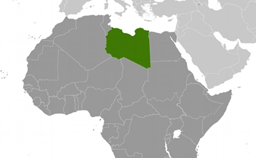 Location of Libya. Source: CIA World Factbook.