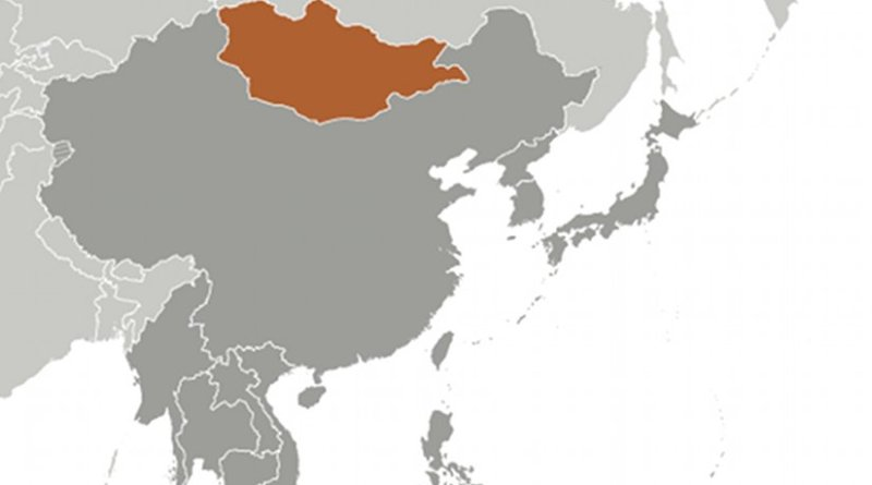 Location of Mongolia. Source: CIA World Factbook.