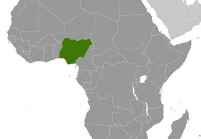 Location of Nigeria. Source: CIA World Factbook.