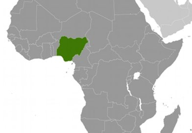 Location of Nigeria. Source: CIA World Factbook.