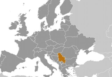 Location of Serbia. Source: CIA World Factbook.