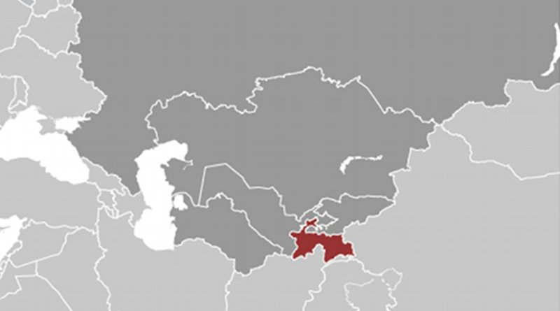 Location of Tajikistan. Source: CIA World Factbook.