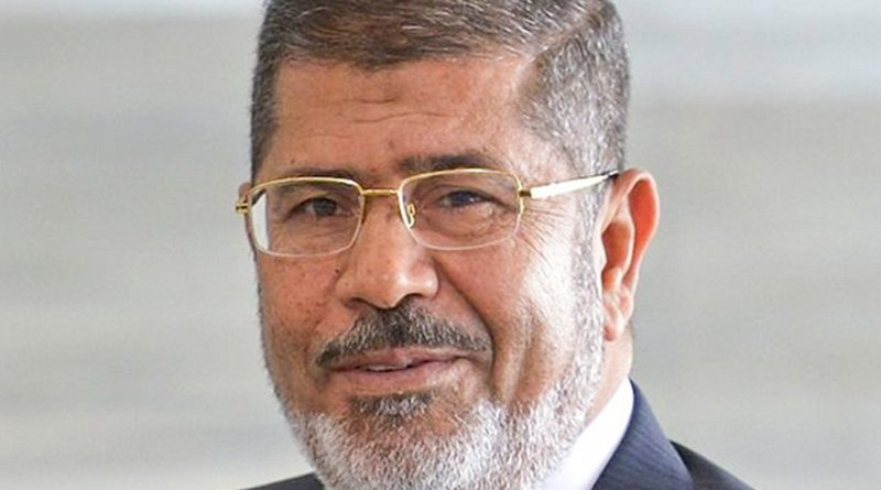 Egypt's Mohamed Morsi. Photo by Wilson Dias/ABr, Wikipedia Commons.