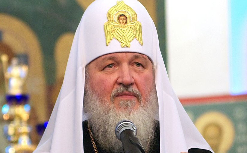 Patriarch Kirill I of Moscow. Photo by Serge Serebro, Vitebsk Popular News, Wikimedia Commons.