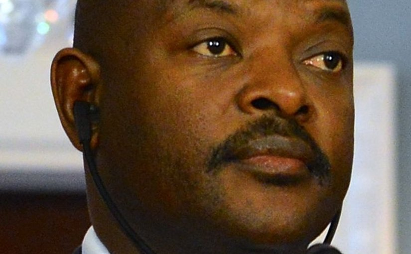 Burundi's President Pierre Nkurunziza. Photo Credit: US State Dept., Wikipedia Commons.