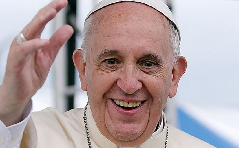 Pope Francis. Photo Credit: Korean Culture and Information Service (Jeon Han), Wikipedia Commons.