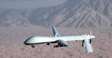 MQ-1 Predator unmanned aircraft. File photo: U.S. Air Force photo/Lt Col Leslie Pratt