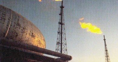 Iran's Abadan Refinery. Photo by Catherine Legrand, Jacques Legrand, Wikipedia Commons.