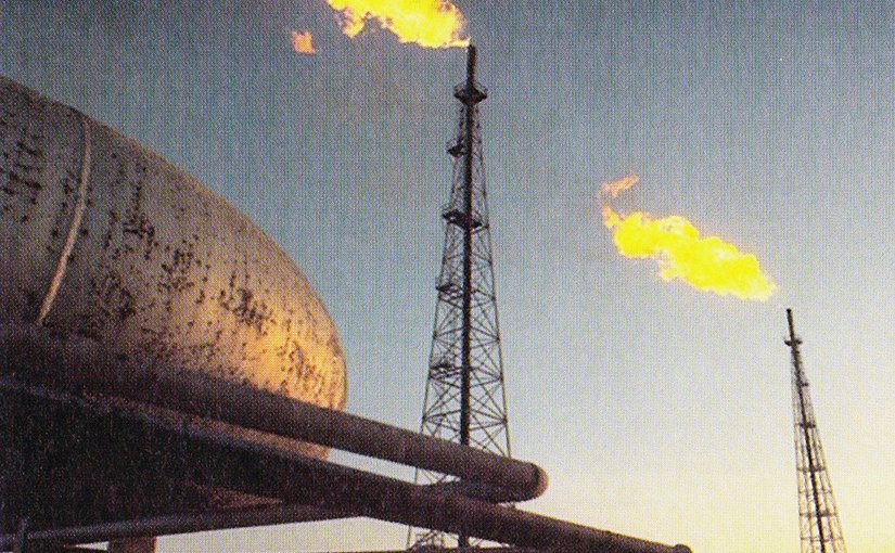 Iran's Abadan Refinery. Photo by Catherine Legrand, Jacques Legrand, Wikipedia Commons.