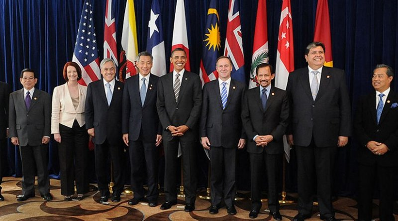 Leaders of TPP member states and prospective member states at a TPP summit in 2010. Photo Credit: Gobierno de Chile.