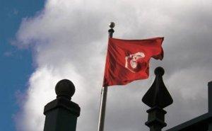 Tunisia's flag.