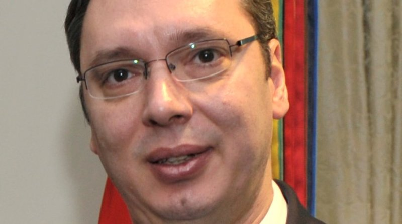 Serbia's Aleksandar Vucic. Photo Credit: US DoD.