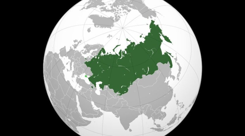 Eurasian Economic Union. Source: Wikipedia Commons.