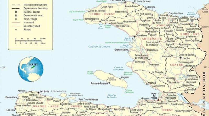 Autonomy Over Dependence Us Halts Funding Haitis Election - Map-of-haiti-and-us