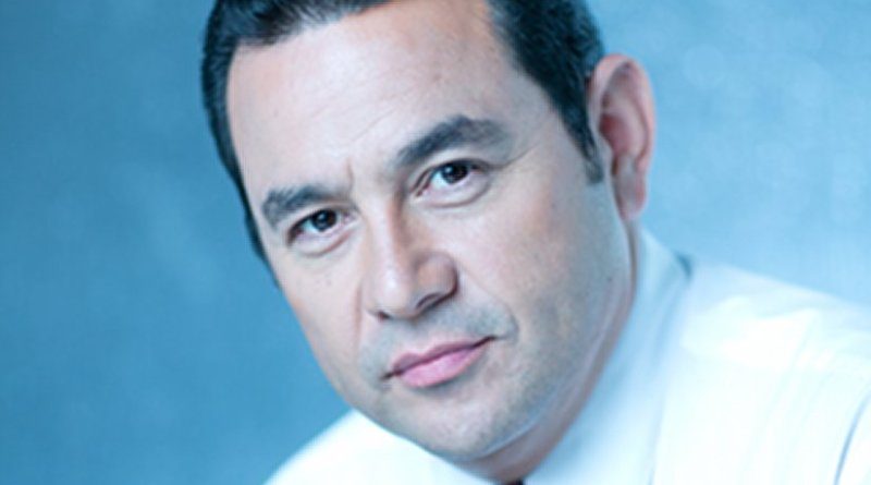 Guatemala's Jimmy Morales. Photo Credit: Wikimedia Commons.
