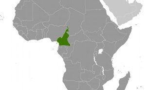 Location of Cameroon. Source: CIA World Factbook.
