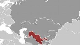 Location of Uzbekistan. Source: CIA World Factbook.