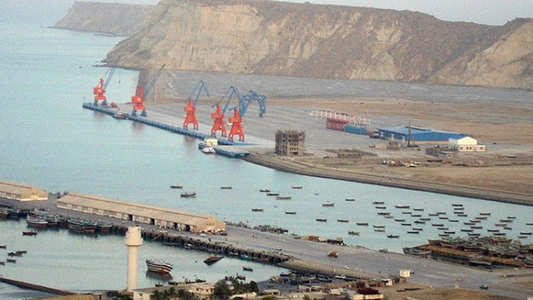 Pakistan's Gwadar Port. Photo by Paranda, Wikipedia Commons.