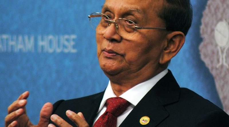 Burma's Thein Sein. Photo Credit: Chatham House, Wikipedia Commons.