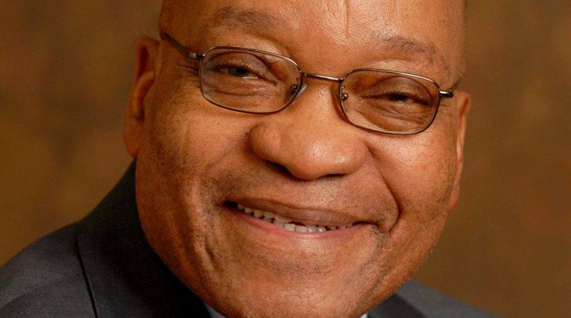 South Africa's Jacob Zuma. Official Photo.