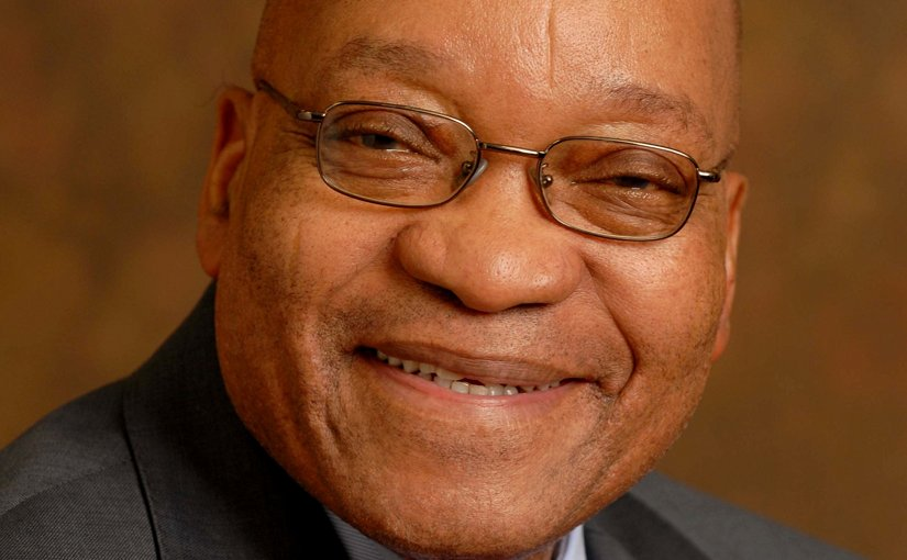 South Africa's Jacob Zuma. Official Photo.