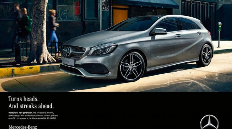 """To mark the launch, Mercedes-Benz is starting an extensive marketing and advertising campaign on all communication channels under the title """"The A-Class. Ready for a new generation."""" Source: Mercedes-Benz."""