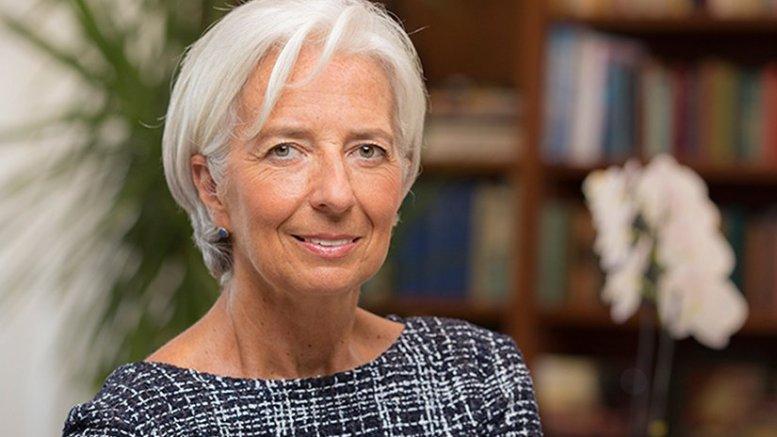 IMF's Christine Lagarde. Photo Credit: IMF