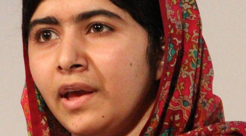 Malala Yousafzai. Photo by Russell Watkins/Department for International Development, Wikipedia Commons.