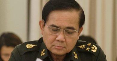Thailand's Prayut Chan-o-cha. Photo Credit: Thailand Government, Wikipedia Commons.